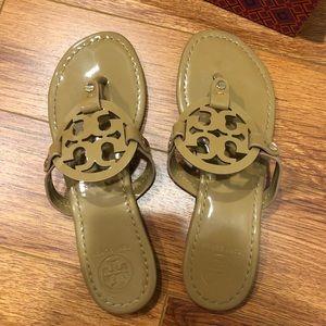 Tory Burch Tan Miller Sandal